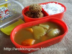 Let's get Wokking!: Lunch Box #1