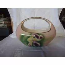 Vaso Floreira De Porcelana