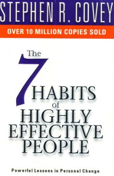 7 Habits of Highly Effective People is One of the best Self help book of all time written by Stephen R. One of the best seller in Self Help Series. Seven Habits, 7 Habits, Stephen R Covey, Good Books, Books To Read, Highly Effective People, Annoying People, Free Pdf Books, Popular Books