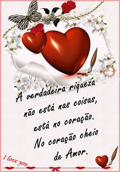 E o coração Love In Spanish, Learn Portuguese, Smiley Emoji, Morning Pictures, Merry Christmas And Happy New Year, Coffee Love, Words, Puppet, Aurora