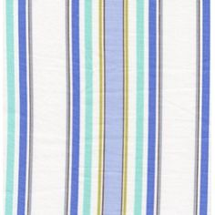 Dena Designs Leanika Fabric - Stripe - Blue