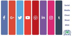 Das neue #SocialMedia #cheatsheet ist da: https://cüp.li/SoMe-CheatSheet-2016