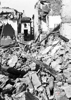 Guerra civil. Belchite destruído Productor: Sancho Ramo, Gerardo Colecciones - Guerra civil. Guerra Civil (1936-1939)http://www.zaragoza.es/nuba/app/results/?vm=nv