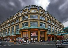 Le Bon Marché, including La Grande Epicerie de Paris. Oldest department store in Paris, opened in 1852. Includes incredible gourmet food hall.