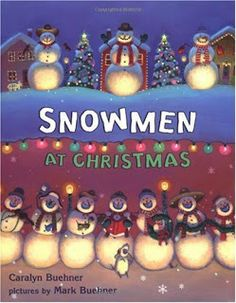 Book Advent: Day 9 {Snowmen at Christmas} | Oopsey Daisy
