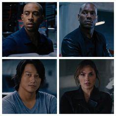 Tej,Roman,Han and Gisele