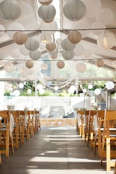 37 Ideas for wedding ceremony decorations outdoor paper lanterns Wedding Lanterns, Tent Wedding, Wedding Blog, Wedding Events, Wedding Ceremony, Our Wedding, Dream Wedding, Uplighting Wedding, Wedding Ideas