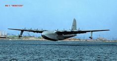 """The Hughes H-4 Hercules (also known as the """"Spruce Goose""""; registration NX37602) is a prototype heavy transport aircraft designed and built by the Hughes Aircraft company. The aircraft made its only flight on November 2, 1947, and the project never advanced beyond the single example produced."""