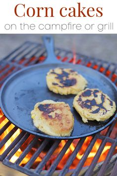 Do something fun at your next grill out, campfire, or evening by the firepit. Make corn cakes! They're similar to arepas or pupusas. Plus, they're naturally vegan and gluten-free. They can also be made indoors. #campfire #cookout #firepit #grilling #veganrecipes Best Vegan Recipes, Top Recipes, Summer Recipes, Vegan Appetizers, Finger Food Appetizers, Non Dairy Butter, Homemade Corn Tortillas, Vegan Party Food, Corn Cakes