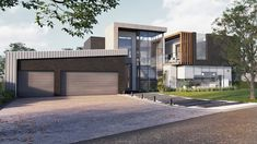 #house #modernhouse #modernhome #design Best Modern House Design, Modern Design, Modern Houses, Mansions, House Styles, Home Decor, Modern Homes, Decoration Home, Manor Houses