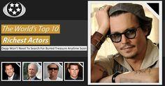 The World's Top 10 Richest Actors