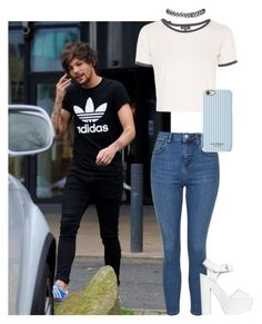 """Grunged Out With Louis"" by amaya173 ❤ liked on Polyvore"