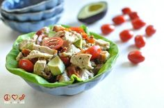 Chicken salad is one of my favorite quick and easy go-to lunches. Easy to prepare, flavorful and portable. In my book that is a winning combination. I always have chicken breasts cooked and prepped so that I can whip up a batch in a moments notice. Check out a couple of my other favorite...
