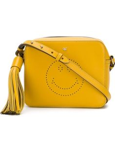 ショッピング Anya Hindmarch Smiley ショルダー in Donne Concept store from the world's best independent boutiques at farfetch.com. 世界のセレクトショップ400店を1つのサイトで.