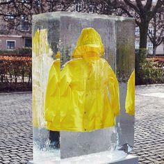 "COLETTE, Paris, France, ""....and I am melting away"", for Sways Kids Rain Jackets, pinned by Ton van der Veer"