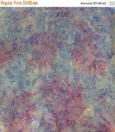NEW YEAR SALE Jinny Beyer Malam Batik~Blue Purple~Blueberry Plum~2549-4~Cotton Fabric,Quilt,~ Rjr Fabrics Fast Shipping,Mb164