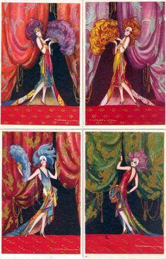 Image result for postcard art by tito corbella