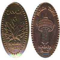 Pressed pennies / Canadian~ I actually have one or two of these!