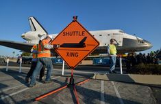 A Space Shuttle on the Streets of Los Angeles - The Atlantic
