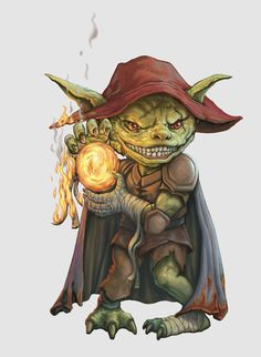 Goblin Pyromaniac by SHAWCJ.deviantart.com on @deviantART-- like the hat