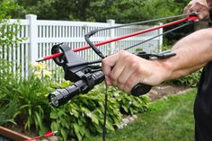 A slingshot bow is a good thing to have in your bug out bag in case u have to hunt for some food!