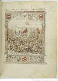 Chronique d'ENGUERRAND DE MONSTRELET, continuée par MATHIEU D'ESCOUCHY. II Années 1422-1444.