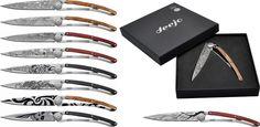 Deejo Knives Tattoo Starter Set - Swords of Might