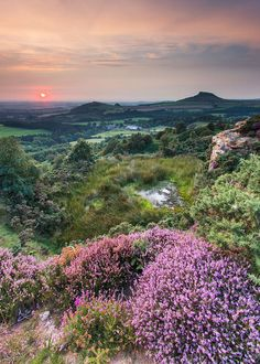 Sunset from Cockshaw Hill. | Flickr - Photo Sharing! - North York Moors - National park in North Yorkshire, England