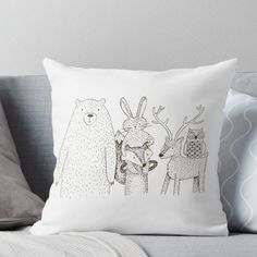 Brown Throws, Brown Throw Pillows, Baby Club, Forest Animals, Mittens, Artist, Fingerless Mitts, Woodland Creatures, Artists