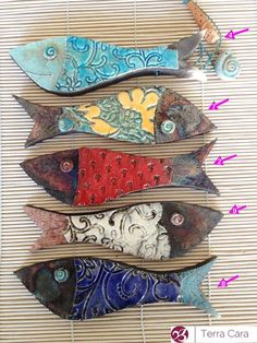 Ceramic Raku Fish – Wall Hanging – Finance tips for small business Fish Sculpture, Wall Sculptures, Clay Fish, Clay Art Projects, Slab Pottery, Fish Art, Fish Fish, Paper Clay, Air Dry Clay