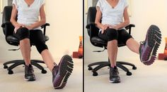 8 Exercises To Relieve Pain In Achy Knees - Fitness With Cindy Knee Arthritis Exercises, Knee Strengthening Exercises, Senior Fitness, Zumba Fitness, Fitness Tips, Health Fitness, How To Strengthen Knees, Knee Pain Relief, Bad Knees