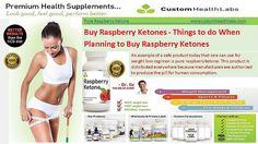 Buy Raspberry Ketones - pill for...