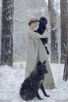 30 Surreal Photos featuring Women and animal Katerina Plotnikova has the ability to bring the power of the strongest animals together with the softness of these women to create these amazing images.