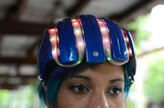 DIY Smart Cycling Helmet With GPS And Compass For Navigation #technology