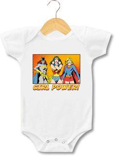 Girl Power Super Heroes Supergirl Wonder Woman par CoolTeeDesignz