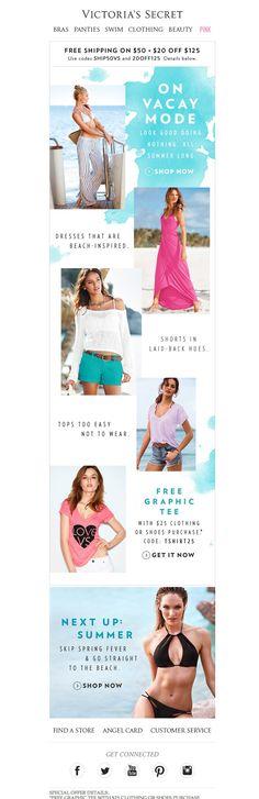 #newsletter Victoria Secret's 05.2014 A class of their own