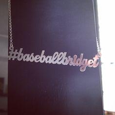 Custom sterling silver social media hashtag necklace. http://survivalofthehippest.com/order.html
