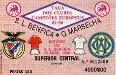 Benfica - Olympique Marseille #Benfica #Ticket