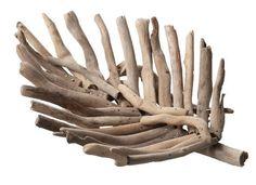 Driftwood Leaf Serving Tray