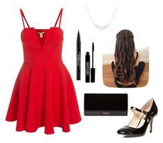 """""""#128"""" by aipi22 on Polyvore featuring moda, Dorothy Perkins, Balmain, Lord & Berry y Trish McEvoy"""