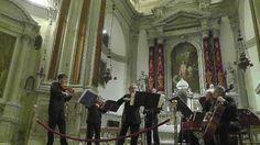 Church of La Pieta, Venice - playing music by Vivaldi where he worked and wrote music.