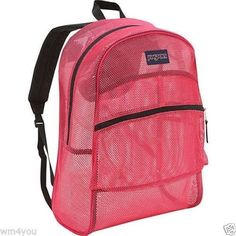 JanSport Mesh Backpack Majestic Pink >>> This is an Amazon Affiliate link. Read more at the image link.