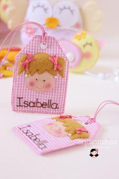Ei Menina!: Para Isabella (。◕‿‿◕。) kids party favor tag