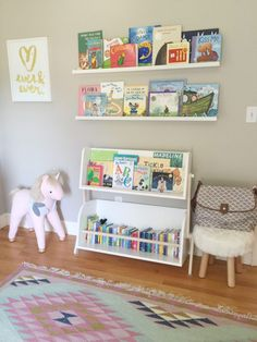 #babyletto Tally Bookcase + Storage Bookcase Storage, Nursery, The  Playroom, Kids,