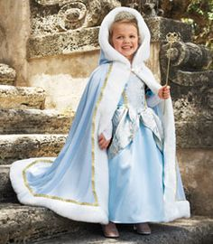 princess cape girls costume accessory - Chasing Fireflies