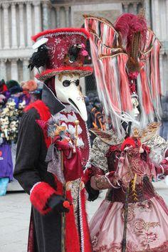 Karneval in Venedig - by Francois Sadler