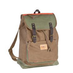 #40weft S/S 2015 #mancollection #accessories #backpack in cotton and leather with 40 WEFT logo. Perfect for your weekend walking! #repin www.40weft.com