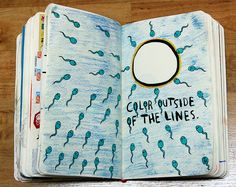 LOL!  Wreck This Journal - Page 31 by Pinuxette, via Flickr