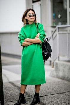 The Latest Street Style From New York Fashion Week via @WhoWhatWearAU