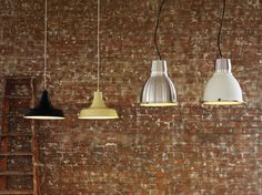 Industrial and cafe chic pendant lighting #habitat